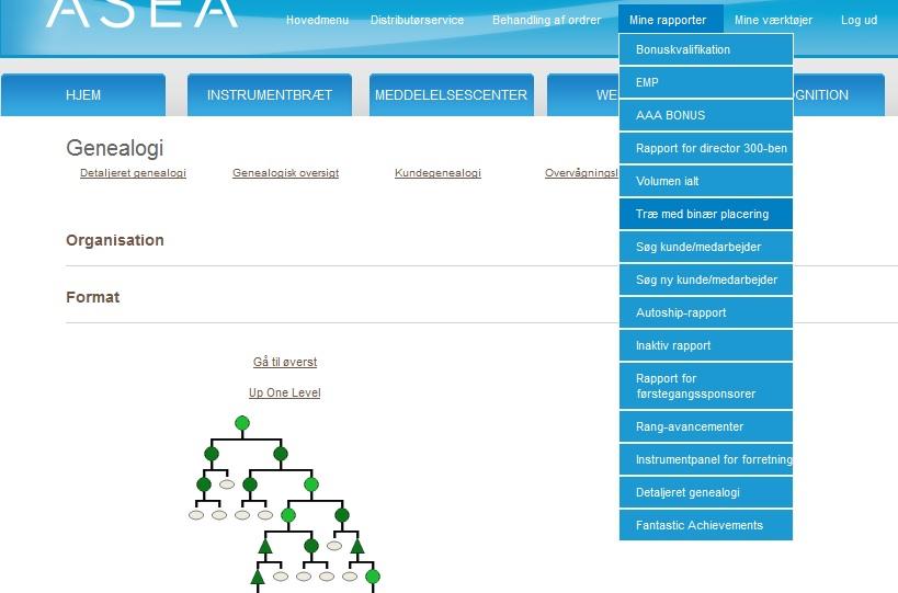 Asea Team-dk Binære Træ